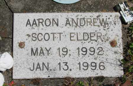 ELDER, AARON ANDREW SCOTT - Polk County, Oregon | AARON ANDREW SCOTT ELDER - Oregon Gravestone Photos