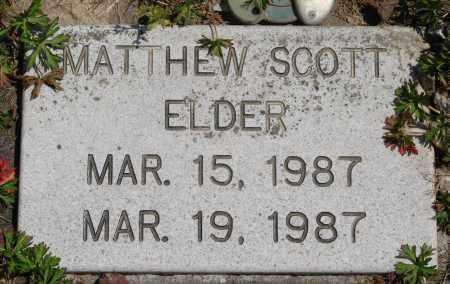 ELDER, MATTHEW SCOTT - Polk County, Oregon   MATTHEW SCOTT ELDER - Oregon Gravestone Photos