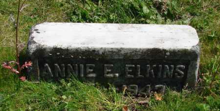 ELKINS, ANNIE E - Polk County, Oregon | ANNIE E ELKINS - Oregon Gravestone Photos