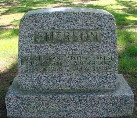 EMERSON, ROBERT ERNEST - Polk County, Oregon | ROBERT ERNEST EMERSON - Oregon Gravestone Photos