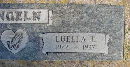 ENGELN, LUELLA F - Polk County, Oregon | LUELLA F ENGELN - Oregon Gravestone Photos