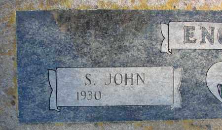 ENGELN, S JOHN - Polk County, Oregon   S JOHN ENGELN - Oregon Gravestone Photos