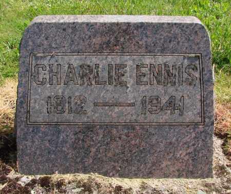 ENNIS, CHARLIE - Polk County, Oregon   CHARLIE ENNIS - Oregon Gravestone Photos