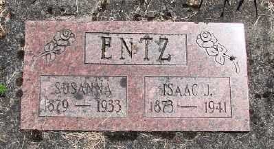 ENTZ, ISAAC J - Polk County, Oregon | ISAAC J ENTZ - Oregon Gravestone Photos