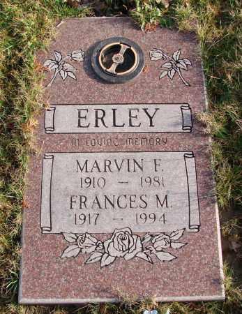 ERLEY, MARVIN F - Polk County, Oregon | MARVIN F ERLEY - Oregon Gravestone Photos