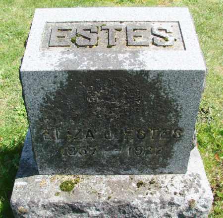 ESTES, ELIZA JANE - Polk County, Oregon | ELIZA JANE ESTES - Oregon Gravestone Photos
