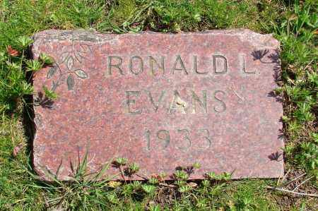 EVANS, RONALD L - Polk County, Oregon | RONALD L EVANS - Oregon Gravestone Photos