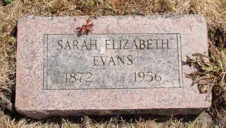 EVANS, SARAH ELIZABETH - Polk County, Oregon | SARAH ELIZABETH EVANS - Oregon Gravestone Photos