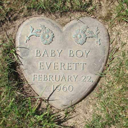 EVERETT, BABY BOY - Polk County, Oregon | BABY BOY EVERETT - Oregon Gravestone Photos