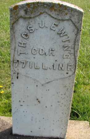 EWING (CW), THOMAS J - Polk County, Oregon   THOMAS J EWING (CW) - Oregon Gravestone Photos