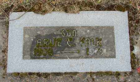 FALK, ARLIE - Polk County, Oregon | ARLIE FALK - Oregon Gravestone Photos