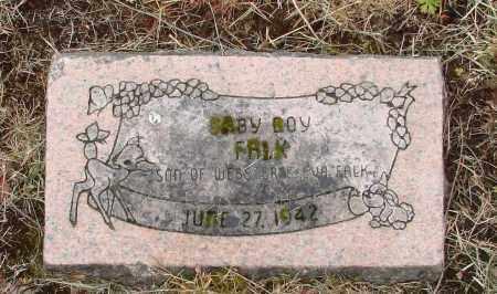 FALK, BABY BOY - Polk County, Oregon | BABY BOY FALK - Oregon Gravestone Photos