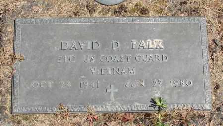 FALK, DAVID D - Polk County, Oregon | DAVID D FALK - Oregon Gravestone Photos