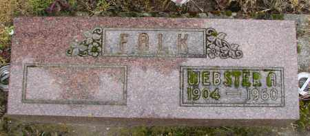 FALK, WEBSTER A - Polk County, Oregon | WEBSTER A FALK - Oregon Gravestone Photos