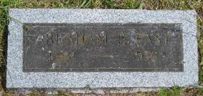 FAST, ABRAHAM HARVEY - Polk County, Oregon   ABRAHAM HARVEY FAST - Oregon Gravestone Photos