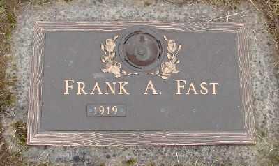 FAST, FRANK A - Polk County, Oregon | FRANK A FAST - Oregon Gravestone Photos