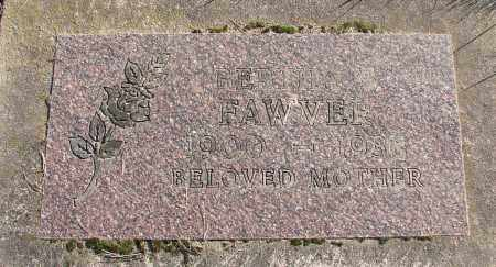 FAWVER, BERTHA B - Polk County, Oregon   BERTHA B FAWVER - Oregon Gravestone Photos