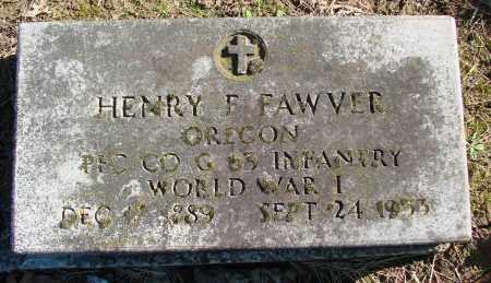 FAWVER, HENRY F - Polk County, Oregon | HENRY F FAWVER - Oregon Gravestone Photos
