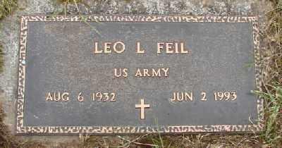 FEIL, LEO L - Polk County, Oregon | LEO L FEIL - Oregon Gravestone Photos