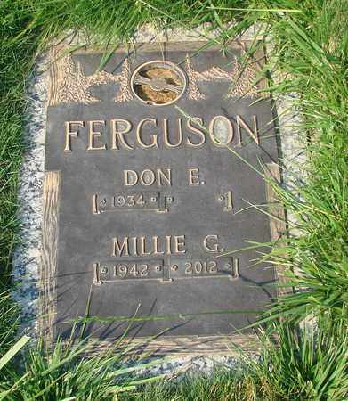 FERGUSON, DON E - Polk County, Oregon | DON E FERGUSON - Oregon Gravestone Photos