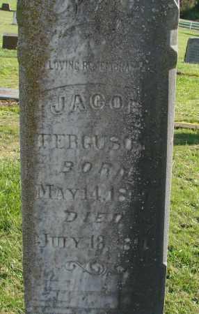 FERGUSON, JACOB - Polk County, Oregon | JACOB FERGUSON - Oregon Gravestone Photos