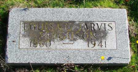 JARVIS, LOUISA C - Polk County, Oregon | LOUISA C JARVIS - Oregon Gravestone Photos