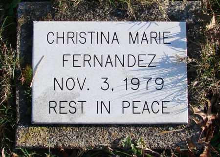 FERNANDEZ, CHRISTINA MARIE - Polk County, Oregon | CHRISTINA MARIE FERNANDEZ - Oregon Gravestone Photos