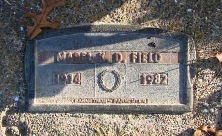 FIELD, MABEL K D - Polk County, Oregon | MABEL K D FIELD - Oregon Gravestone Photos