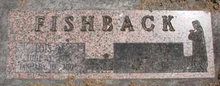 FISHBACK, LOIS M - Polk County, Oregon | LOIS M FISHBACK - Oregon Gravestone Photos