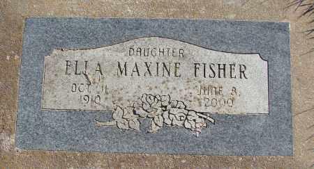 FISHER, ELLA MAXINE - Polk County, Oregon | ELLA MAXINE FISHER - Oregon Gravestone Photos