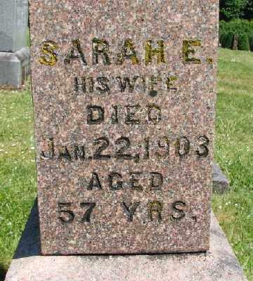 FISHER, SARAH E - Polk County, Oregon   SARAH E FISHER - Oregon Gravestone Photos