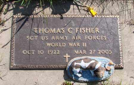 FISHER, THOMAS C - Polk County, Oregon | THOMAS C FISHER - Oregon Gravestone Photos