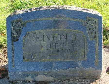 FLEECE, CLINTON B - Polk County, Oregon | CLINTON B FLEECE - Oregon Gravestone Photos