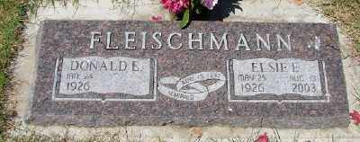 FLEISCHMANN, ELSIE E - Polk County, Oregon | ELSIE E FLEISCHMANN - Oregon Gravestone Photos