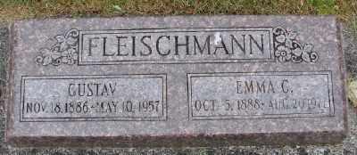 FLEISCHMANN, EMMA C - Polk County, Oregon | EMMA C FLEISCHMANN - Oregon Gravestone Photos