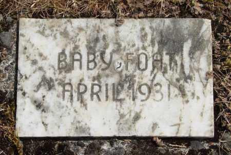FOAT, BABY - Polk County, Oregon   BABY FOAT - Oregon Gravestone Photos