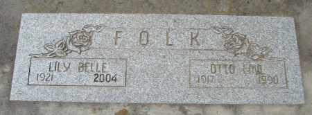 FOLK, LILLY BELLE - Polk County, Oregon | LILLY BELLE FOLK - Oregon Gravestone Photos