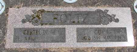 FOLTZ, GUY E - Polk County, Oregon   GUY E FOLTZ - Oregon Gravestone Photos