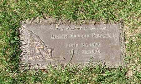 FOWLER, BRIAN PHILLIP - Polk County, Oregon | BRIAN PHILLIP FOWLER - Oregon Gravestone Photos