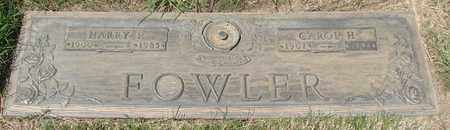 FOWLER, CAROL HELENE - Polk County, Oregon | CAROL HELENE FOWLER - Oregon Gravestone Photos