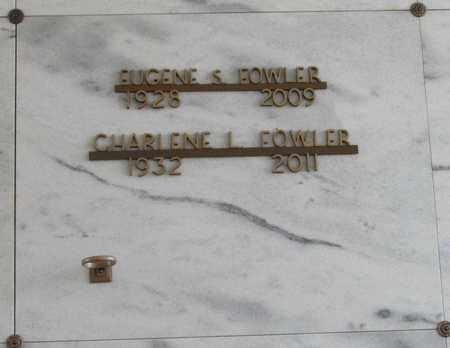 FOWLER, CHARLENE LOUISE - Polk County, Oregon | CHARLENE LOUISE FOWLER - Oregon Gravestone Photos