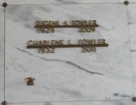 FOWLER, EUGENE SCOTT - Polk County, Oregon | EUGENE SCOTT FOWLER - Oregon Gravestone Photos