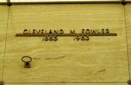 FOWLER, CLEVELAND M - Polk County, Oregon   CLEVELAND M FOWLER - Oregon Gravestone Photos
