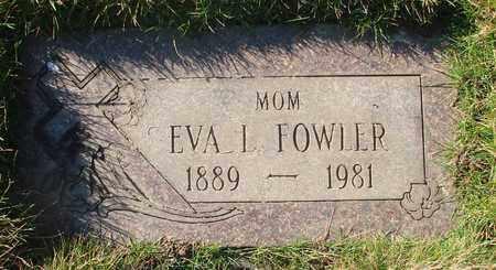 FOWLER, EVA L - Polk County, Oregon   EVA L FOWLER - Oregon Gravestone Photos