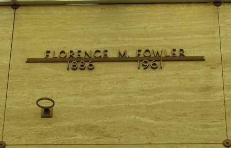 FOWLER, FLORENCE M - Polk County, Oregon   FLORENCE M FOWLER - Oregon Gravestone Photos