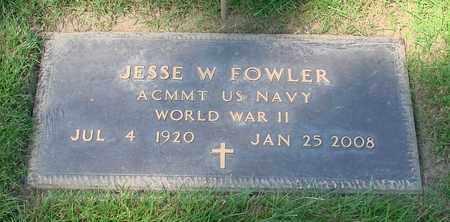 FOWLER, JESSE W - Polk County, Oregon | JESSE W FOWLER - Oregon Gravestone Photos