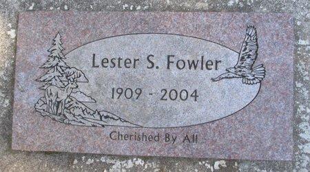FOWLER, LESTER S - Polk County, Oregon | LESTER S FOWLER - Oregon Gravestone Photos