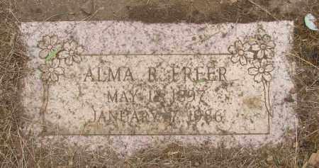 FREER, ALMA R - Polk County, Oregon | ALMA R FREER - Oregon Gravestone Photos