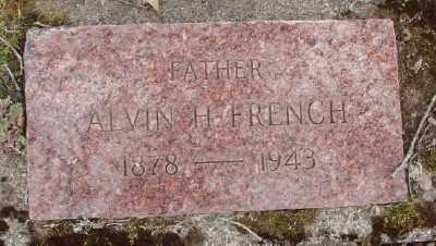 FRENCH, ALVIN H - Polk County, Oregon | ALVIN H FRENCH - Oregon Gravestone Photos
