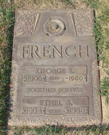 FRENCH, ETHEL S - Polk County, Oregon | ETHEL S FRENCH - Oregon Gravestone Photos